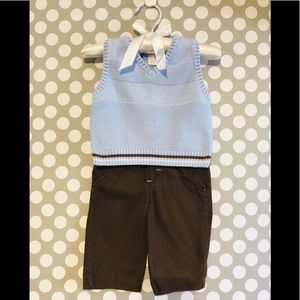 First Impressions - Baby Boy Outfit
